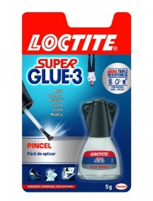 BLISTER LOCTITE SUPER GLUE-3 C/PINCEL 5 GR.